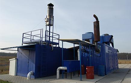 Pochodnie do spalania biogazu